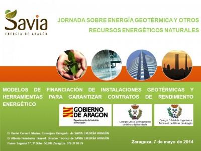 imagen de JORNADA SOBRE ENERGÍA GEOTÉRMICA