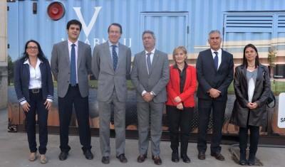 imagen de Inauguración CONTENEDOR ENERGÉTICO BIOMASA BODEGAS VILARNAU