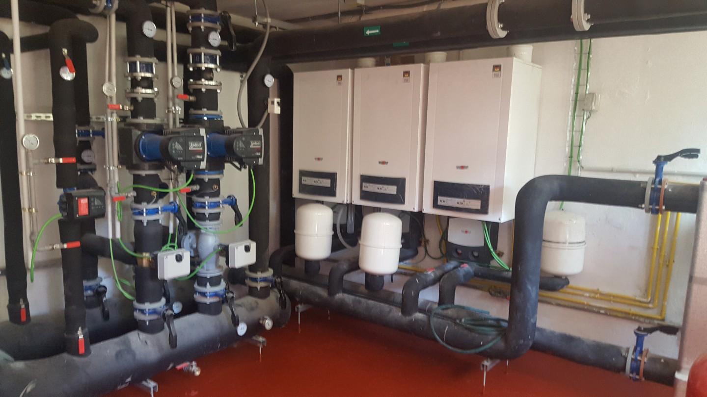 Transformacion de gas CEIP JERONIMO ZURITA.Eficiencia energética