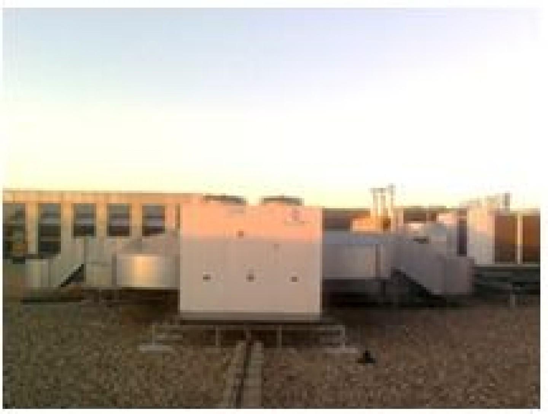 Ampliación instalaciones en centro comercial Augusta.Edificación