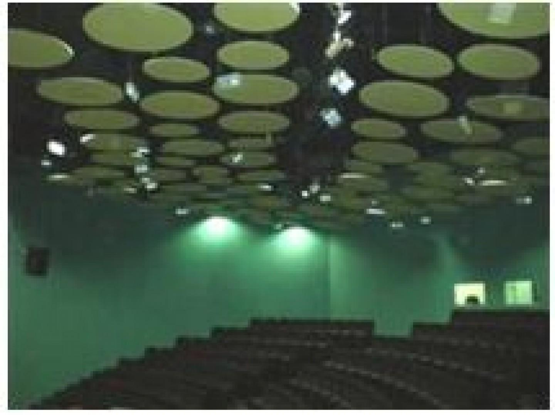 Instalaciones para la tribuna del agua en Expo Zaragoza.Edificación