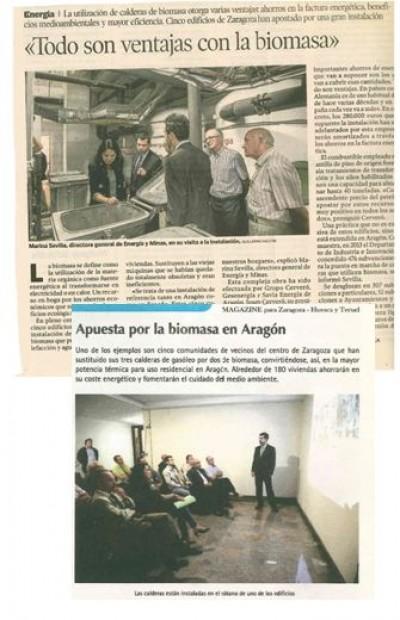 imagen de Apuesta por la biomasa en Aragón